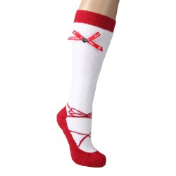 Red Lacey Lu Sockettes